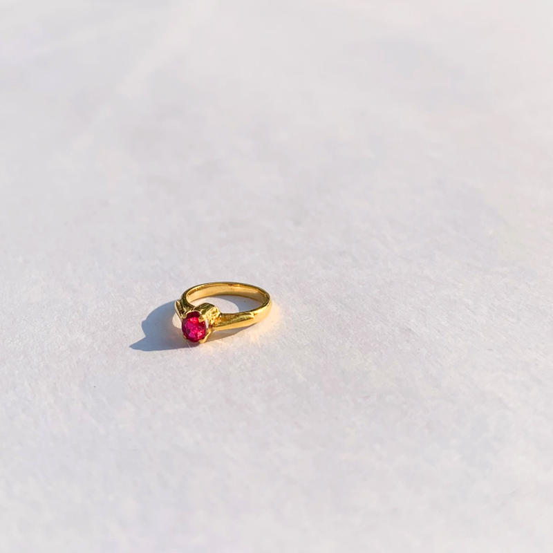 Ruby Baby Ring