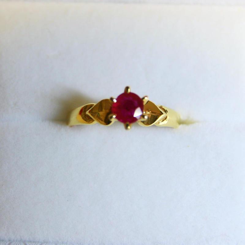 Rose Ruby Ring