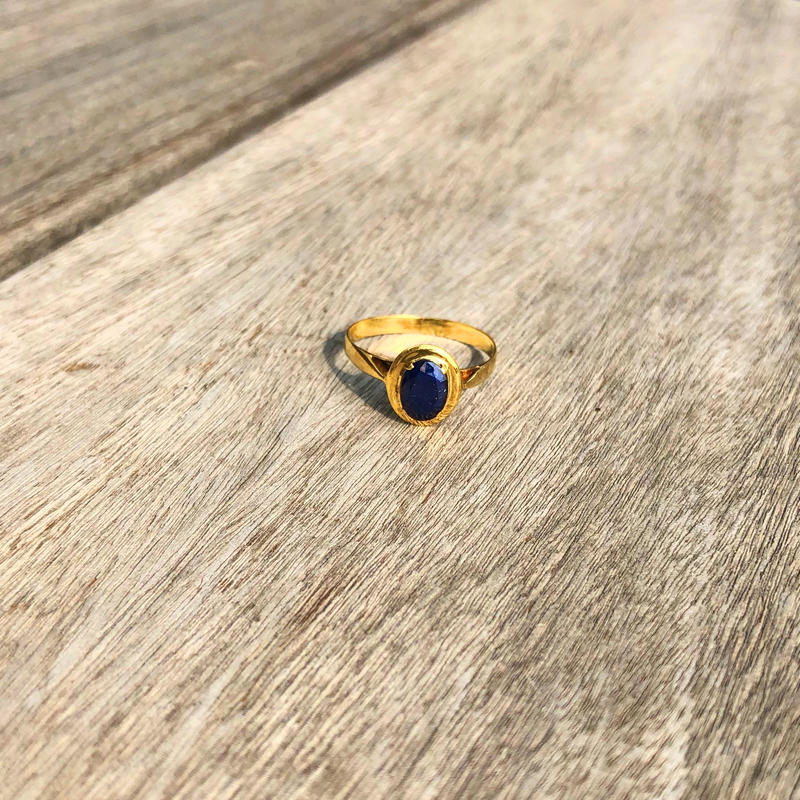 Old Sapphire Ring