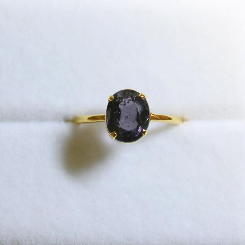 Grape Spinel Ring
