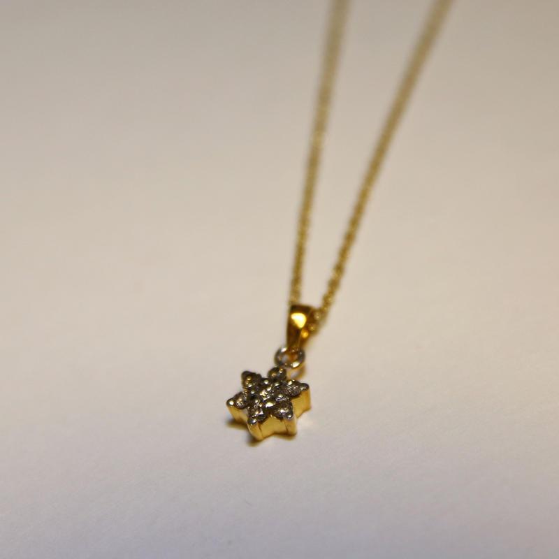 Yellow Diamond Pendant