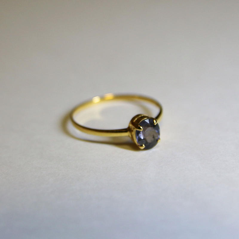Sky Spinel Ring