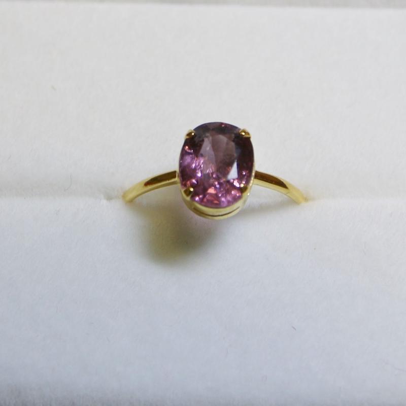 Violet Spinel Ring