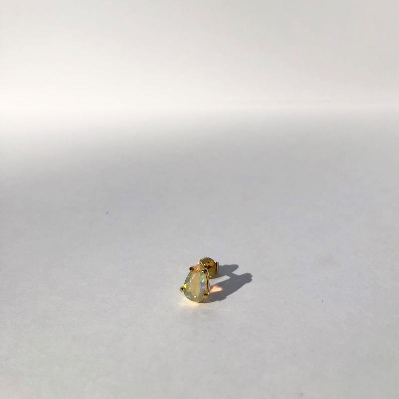 Drop Opal Solo Earring