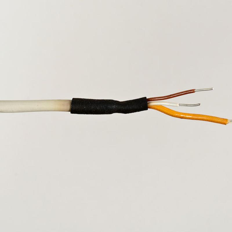 Siemens / 単線2芯シールドケーブル  約24cm10本          [vc-18]
