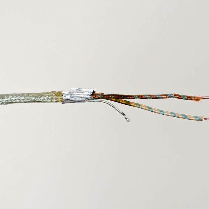 Siemens / 単線2芯シールドケーブル  約28cm5本          [vc-20]