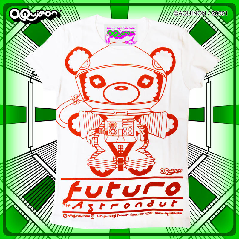 T-shirt【FUTURO the ASTRONAUT】/ Ladies or Mens