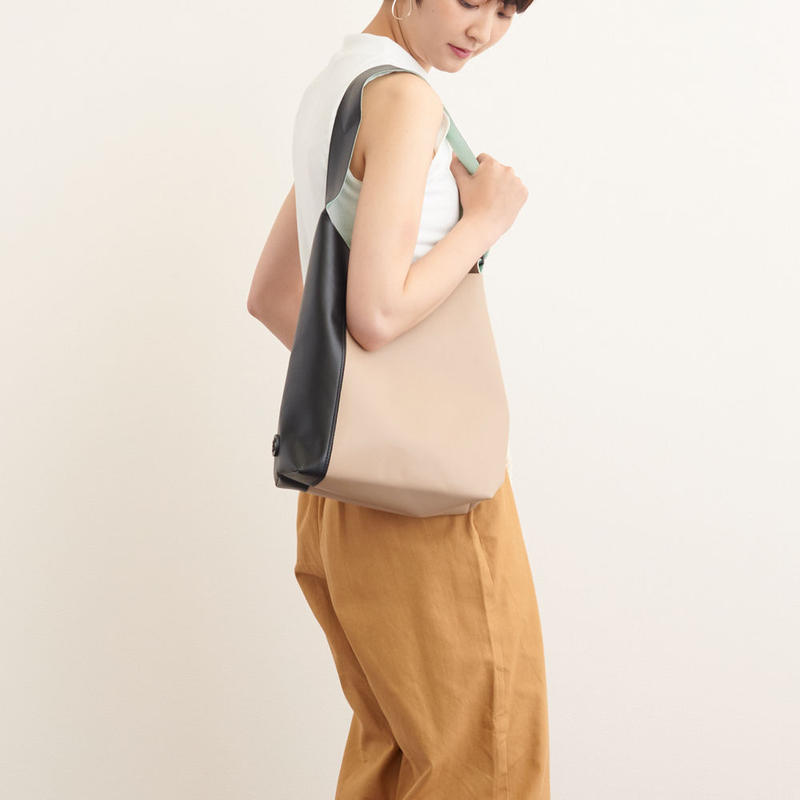 made on earth SHOULDER BICOLORED ショルダーバイカラー(81-5013)