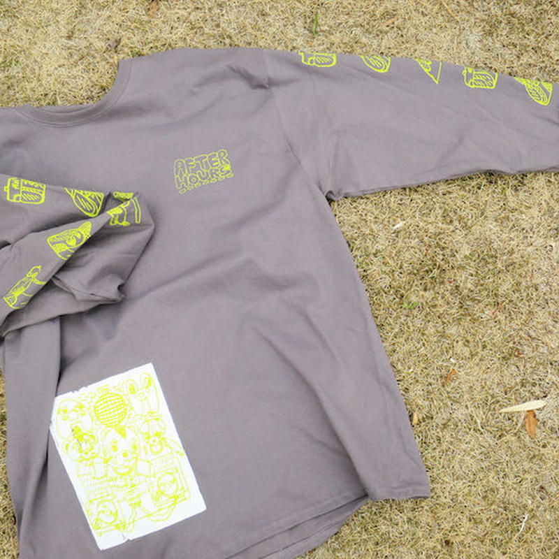 AFTER HOURS L/S Tシャツ