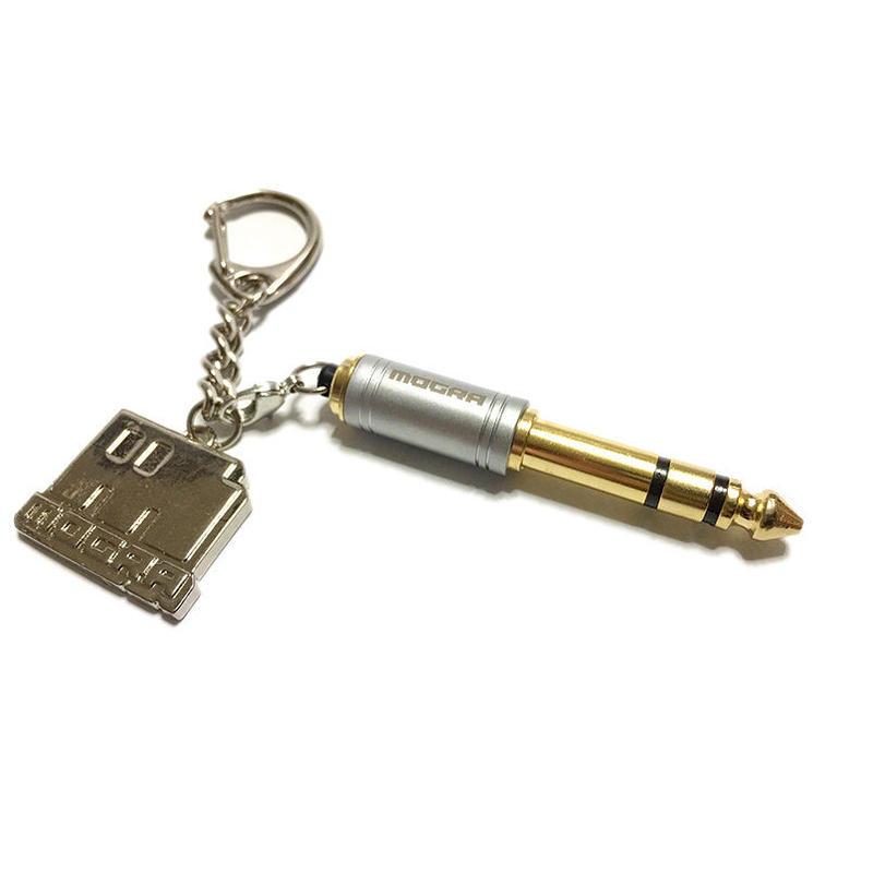 MOGRA Original Headphone Adapter & keychain [M-007]