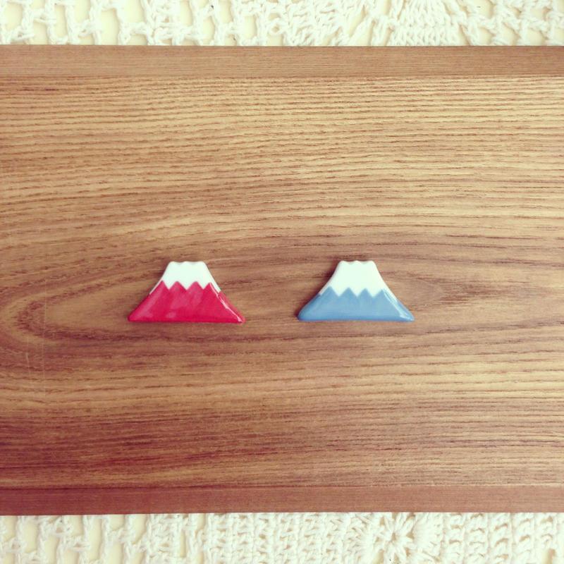 富士山箸置き