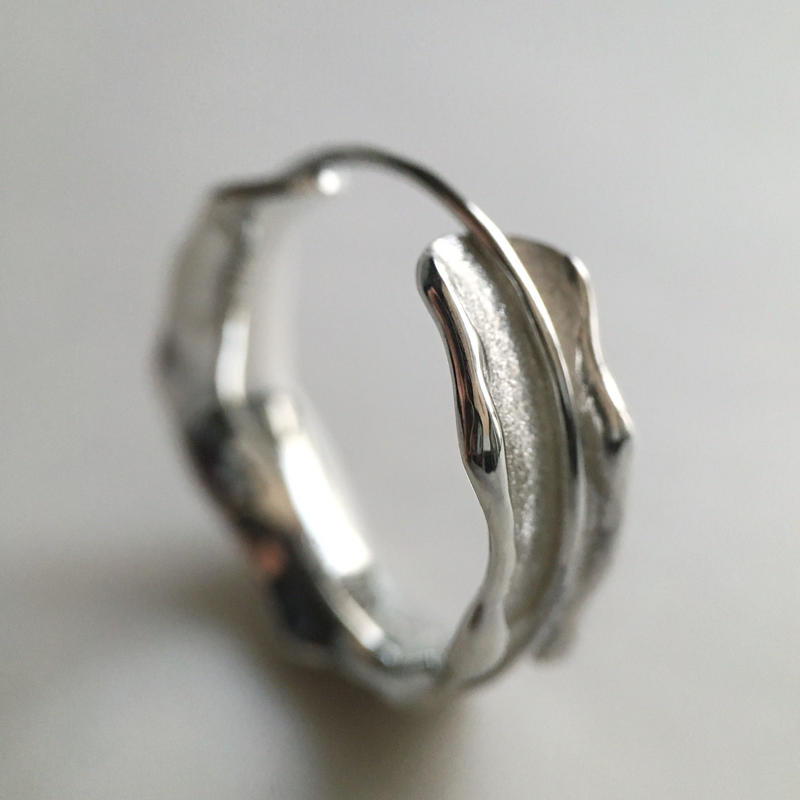 with me ring 【silver × silver】