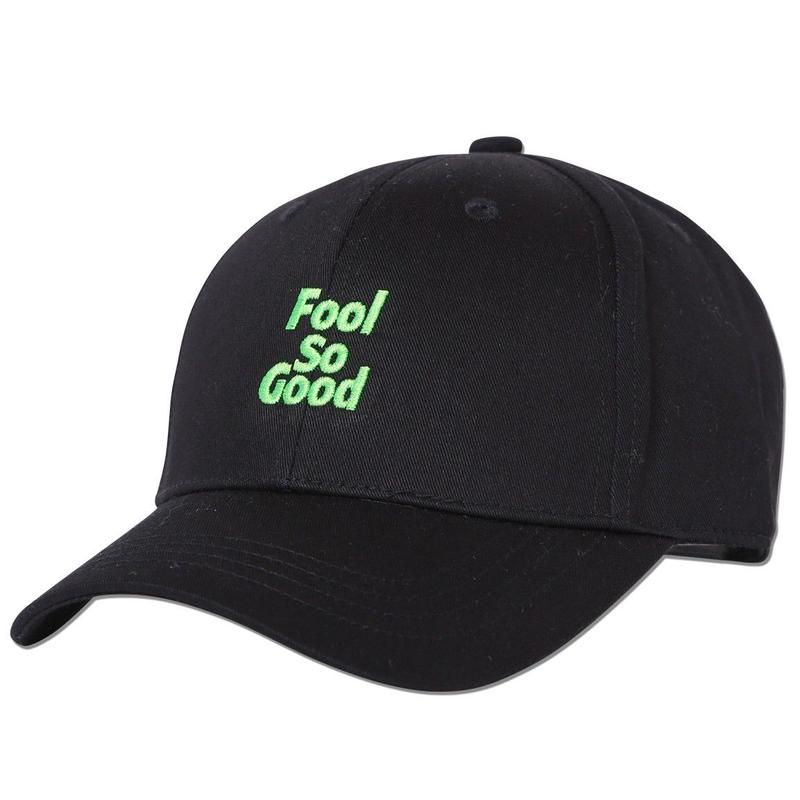 """Fool So Good"" Curve Visor Middle Cap(Neon EMB)"