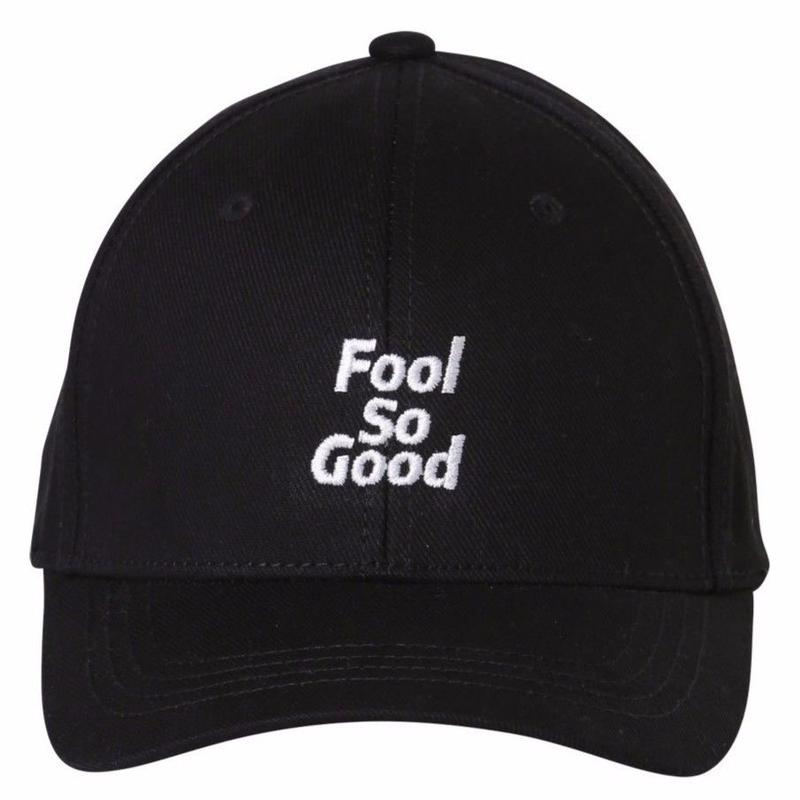 """Fool So Good"" Curve Visor Middle Cap"