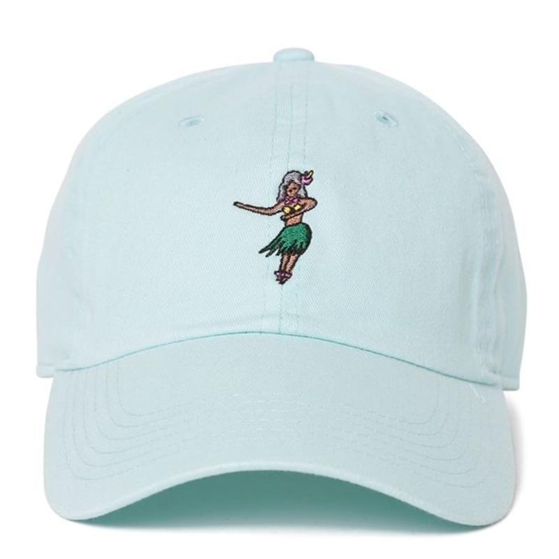 """Hula girl"" Low Cap"