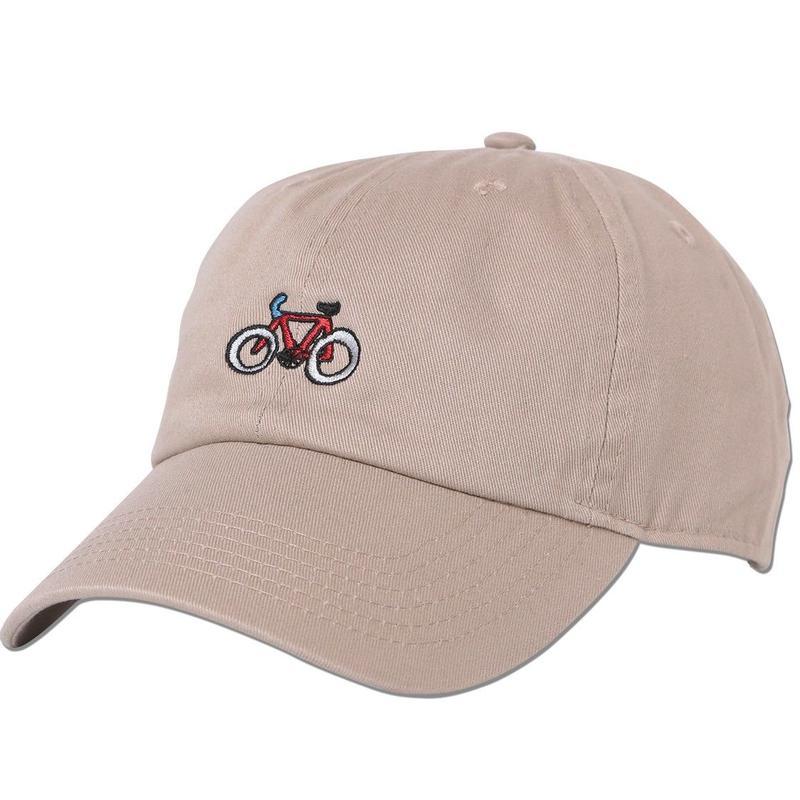 """""""Bicycle"""" Curve Visor Low Cap"""