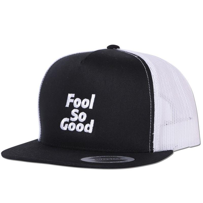 """""""Fool So Good"""" Flat Visor 2tone Snap Back  Mesh Cap"""