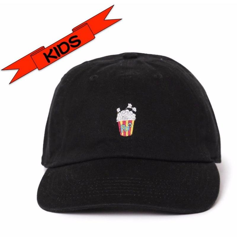 "KIDS (4才から7才) ""Pop corn""  Low Cap"