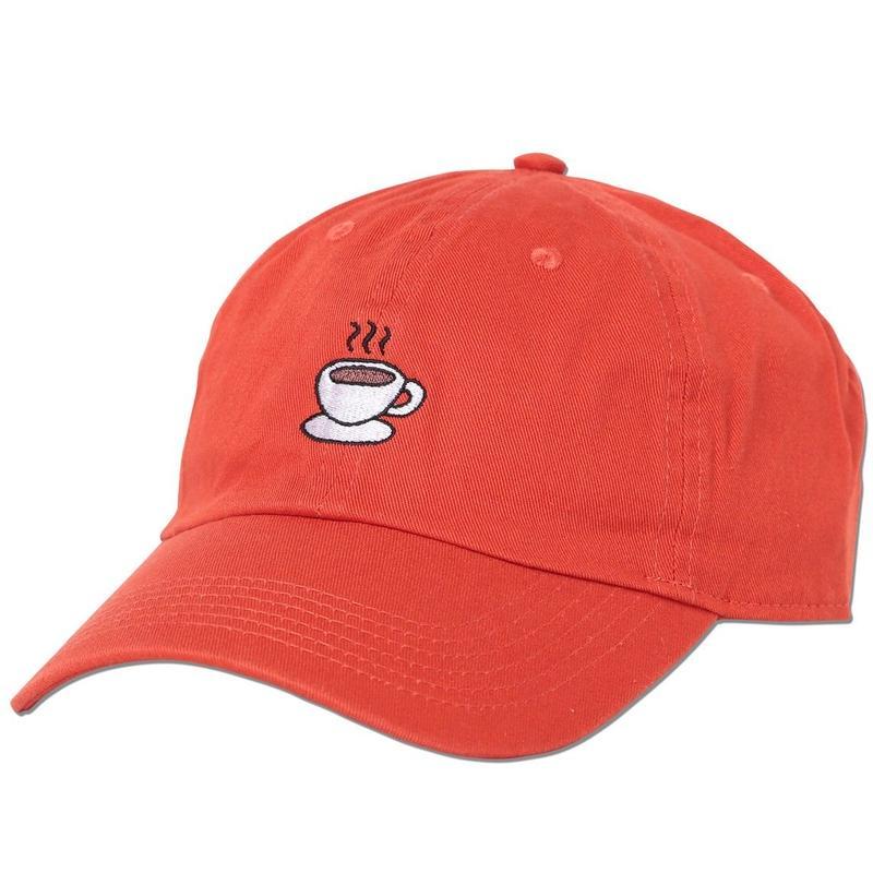 """Coffee"" Curve Visor Low Cap"