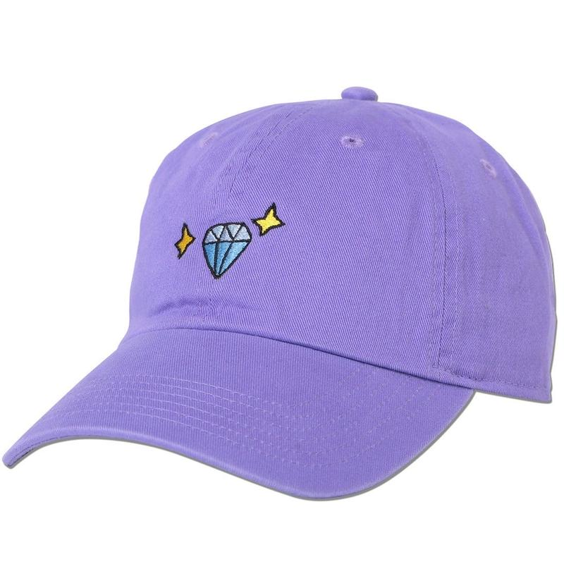"""Diamond"" Curve Visor Low Cap"