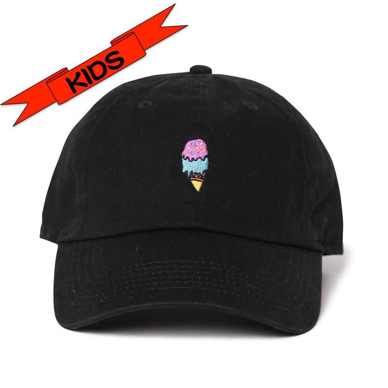 """KIDS (4才から7才) """"Ice cream""""  Low Cap"""