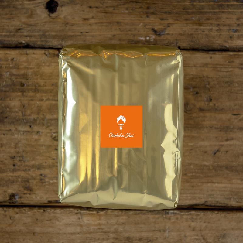Moksha Chai Spiced Tea 1kg/モクシャチャイ1kg[約330杯分]