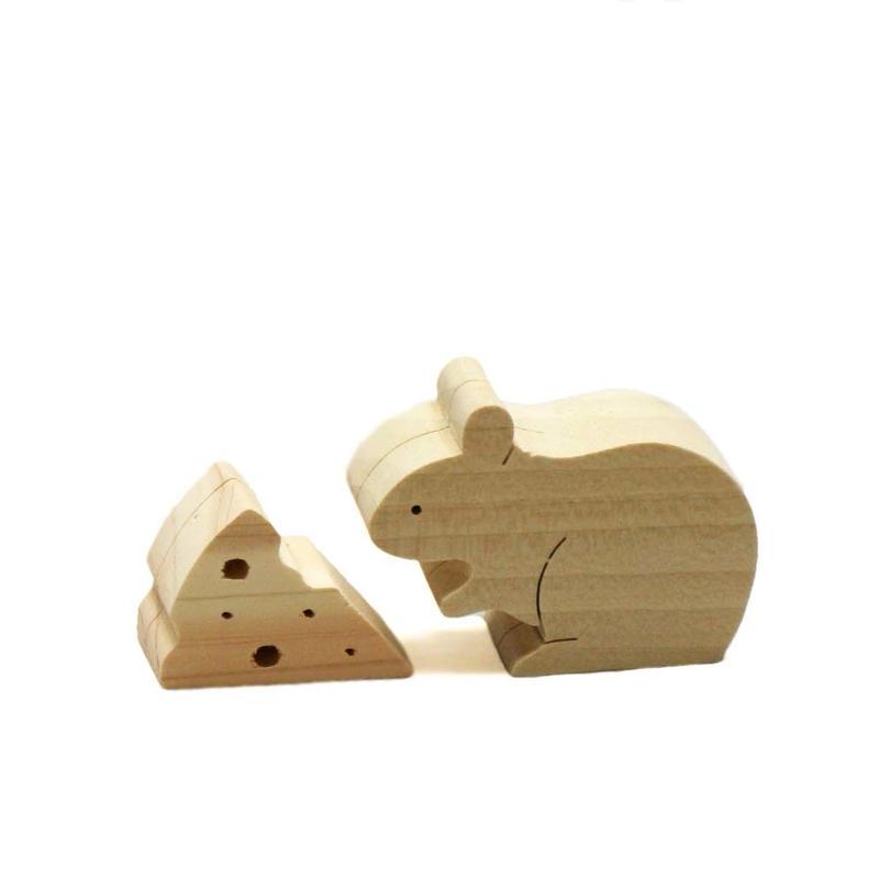 メモフォルダ(ネズミ・チーズ)