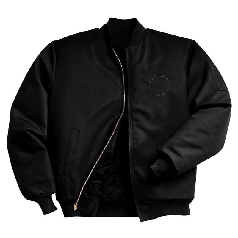 HOTEL BLUE WORK JACKET BLACK (BLACK)