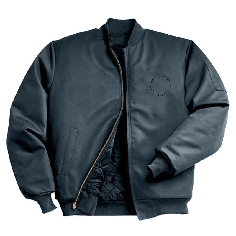 HOTEL BLUE WORK JACKET BLACK (CHARCOAL)