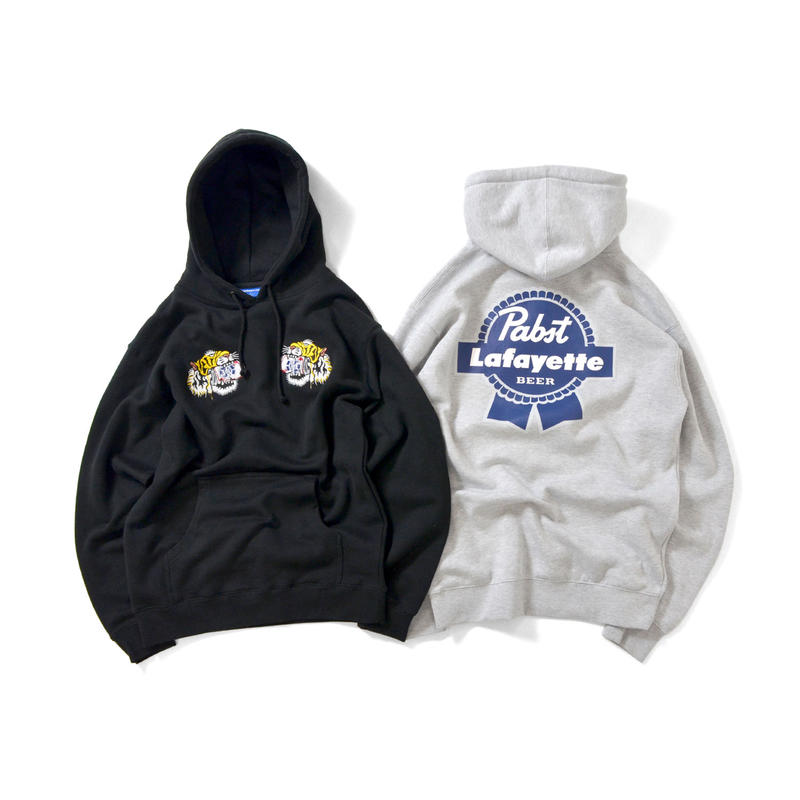 Lafayette × PABST BLUE RIBBON TIGER PULLOVER SWEAT SHIRT