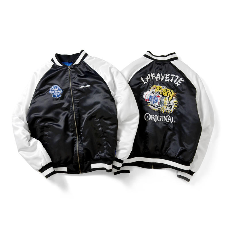 Lafayette × PABST BLUE RIBBON TIGER SOUVENIR JACKET