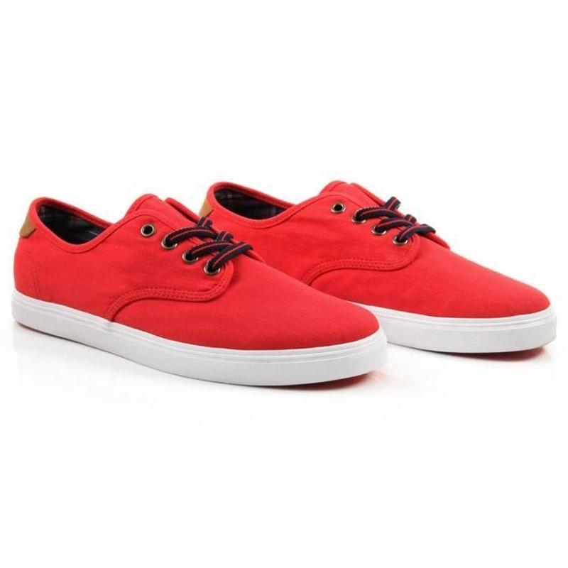 VANS × DQM Madero CANVAS (RED)
