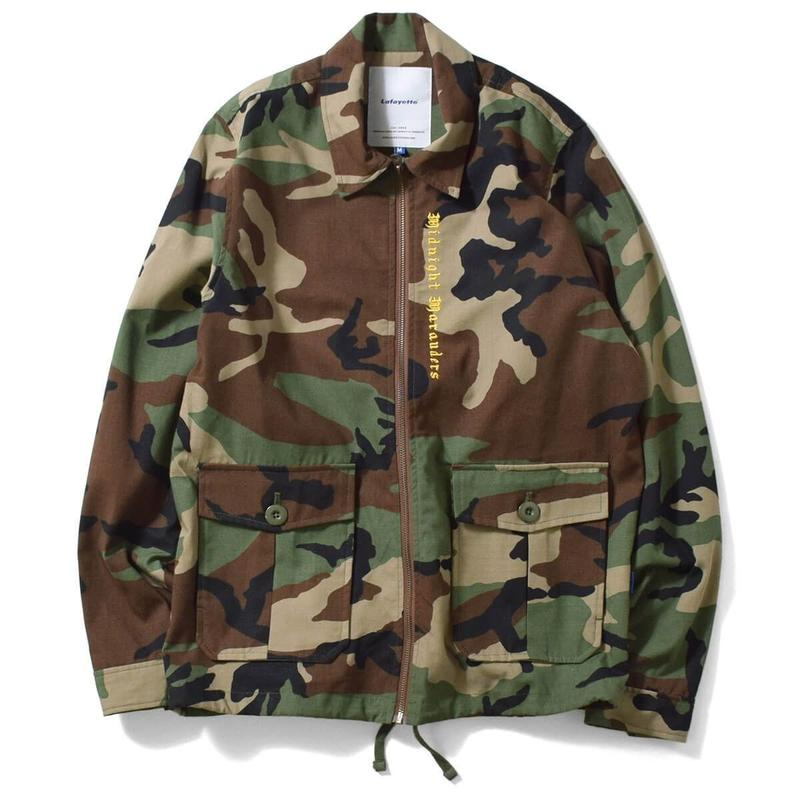 Lafayette ラファイエット COTTON RIPSTOP DRIZZLER JACKET  WOODLAND CAMO