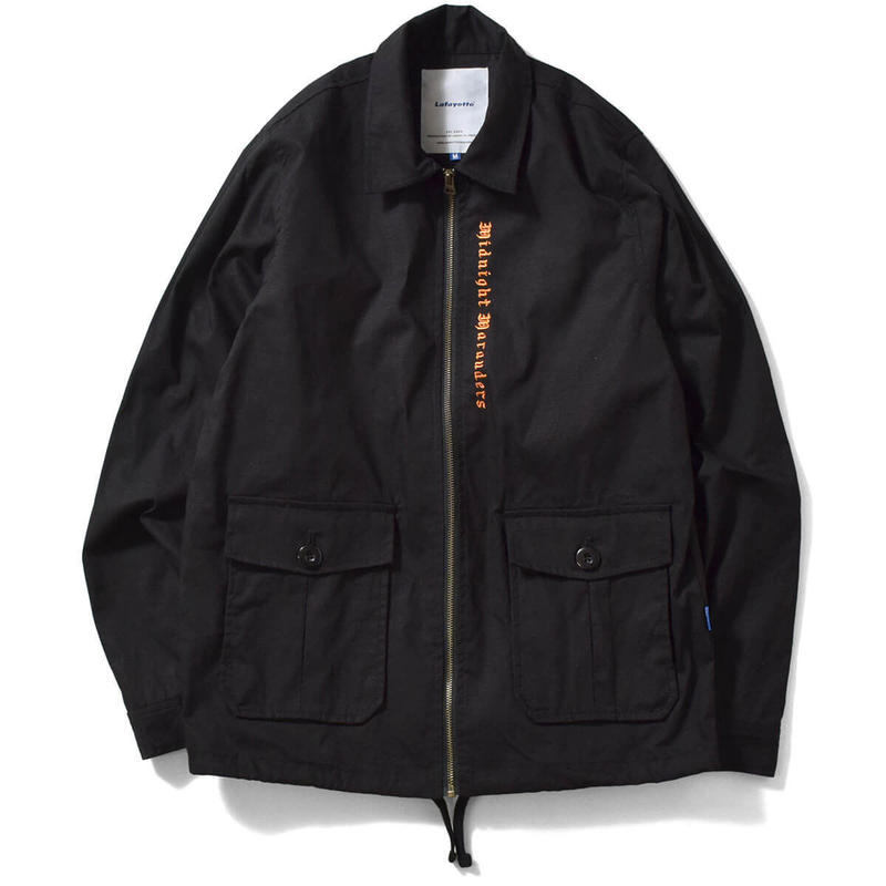 Lafayette ラファイエット COTTON RIPSTOP DRIZZLER JACKET BLACK