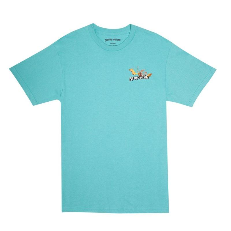 Fucking Awesome Bash Tee (Chalky Mint)
