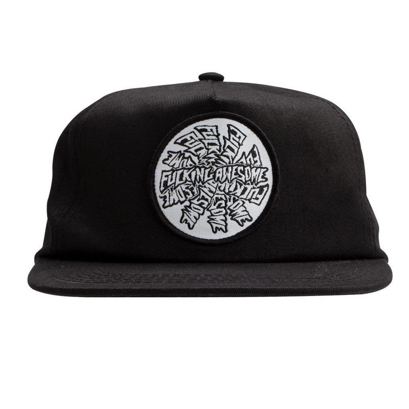 Fucking Awesome Spiral Hat (BLACK)