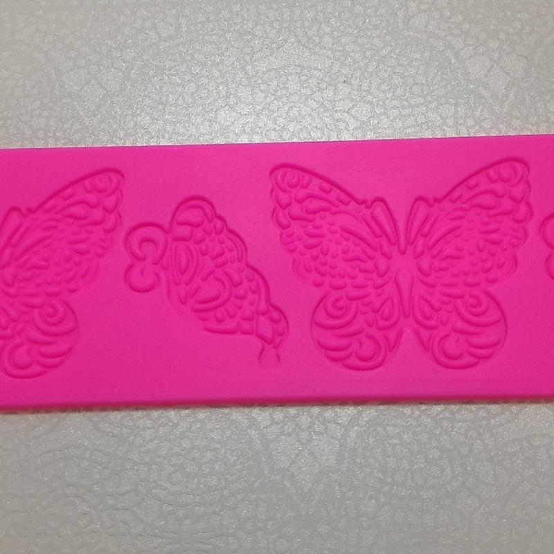 シュガーレース型・蝶柄