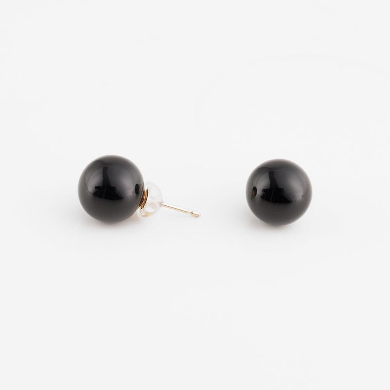 CLASSIC/SPHERE Earring T2 [Black]