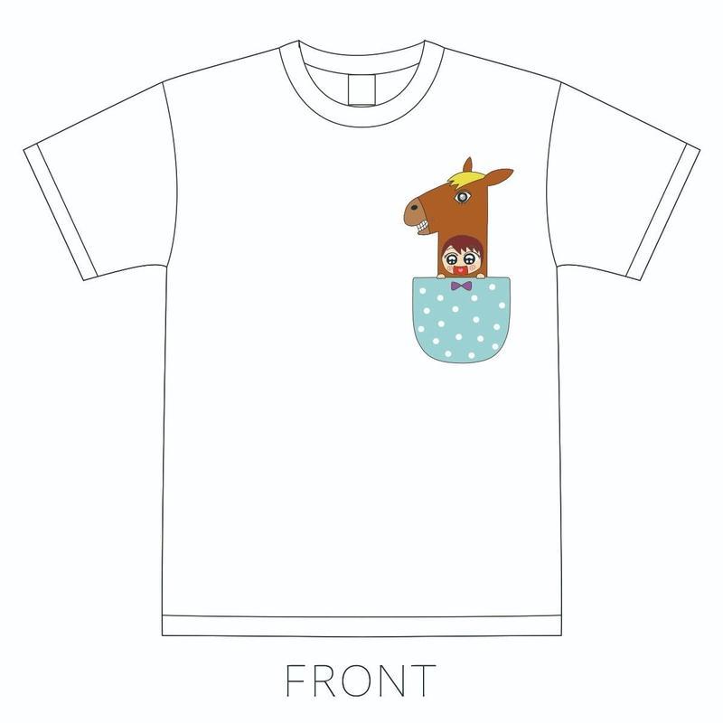 【藤崎結朱】素っ裸令和Tシャツ ホワイト(5/25LIVE会場受取限定商品)