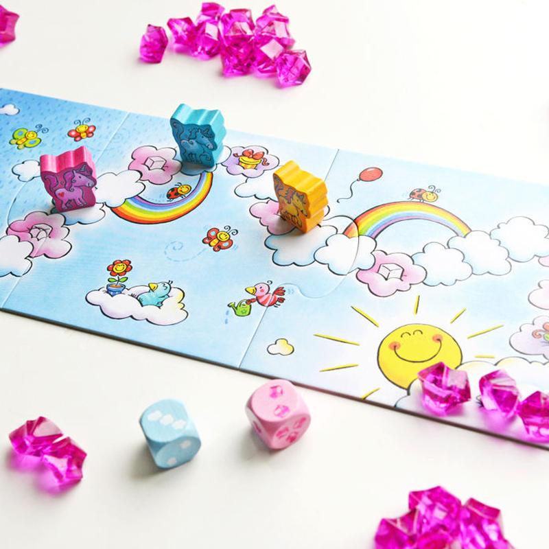 〈購入時期目安:3才-4才〉【ゲーム/簡単なすごろく遊び】雲の上のユニコーン