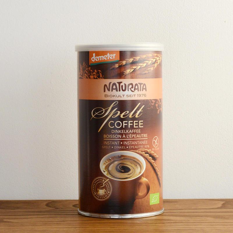【インスタント有機穀物コーヒー】ナチュラータ オーガニック スぺルトコーヒー  (カフェインフリー、グルテンフリー)