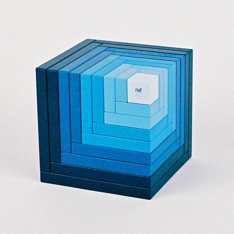 〈6才-〉【積木/「次の積木」造形遊び】セラ 青
