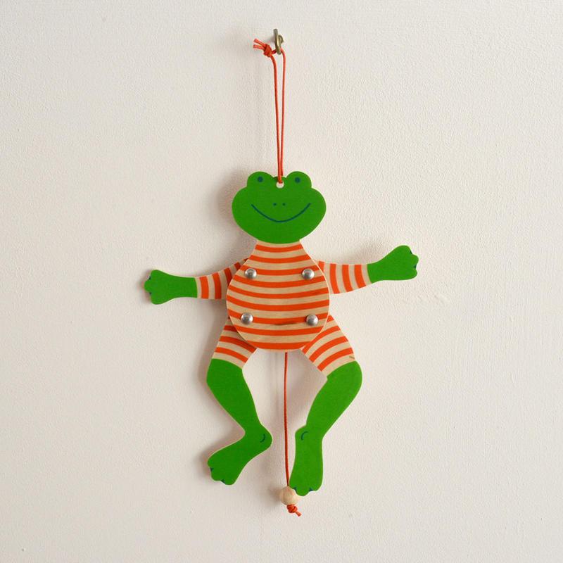 〈3才-5才〉【ひっぱる玩具】ミニハンペルマン ヤーンかえる