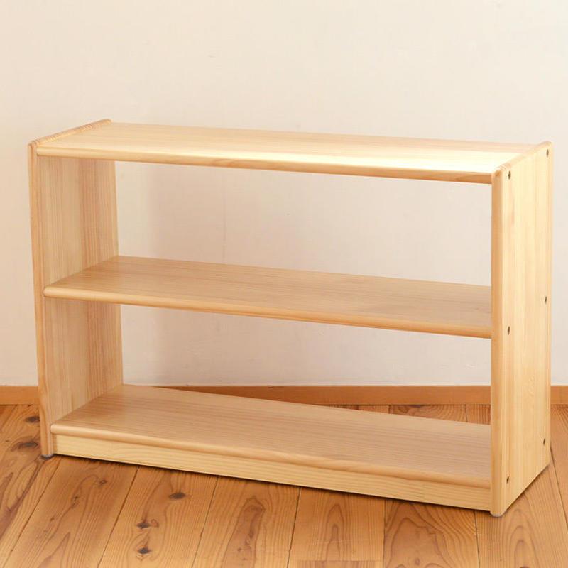 ※取り寄せ品※ 〈2才-〉【子どもの空間づくり家具】白木棚〈小〉  (取り寄せ到着目安:1週間)