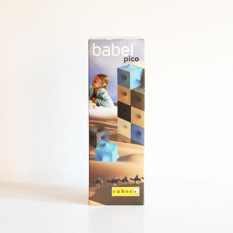 〈購入時期目安:6才〉【ゲーム/考える遊び】【立体パズル】cuboro バベルピコ