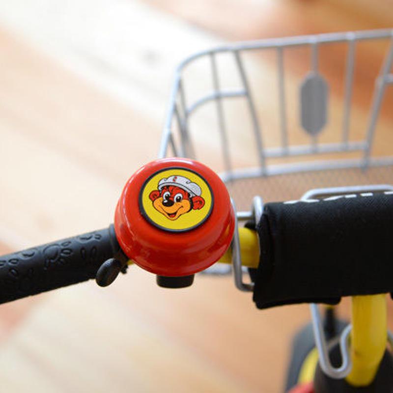 【乗り物/パーツ】プッキー 三輪車ベル 赤/青