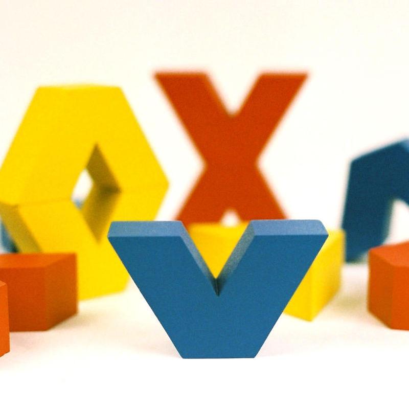 〈5才-〉【積木/「次の積木」造形遊び】【「形」の玩具】ヴィボ