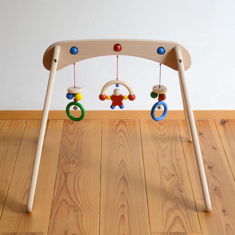 〈3ヶ月-〉【ベビー/動きの玩具,見る遊び】ムジーナ