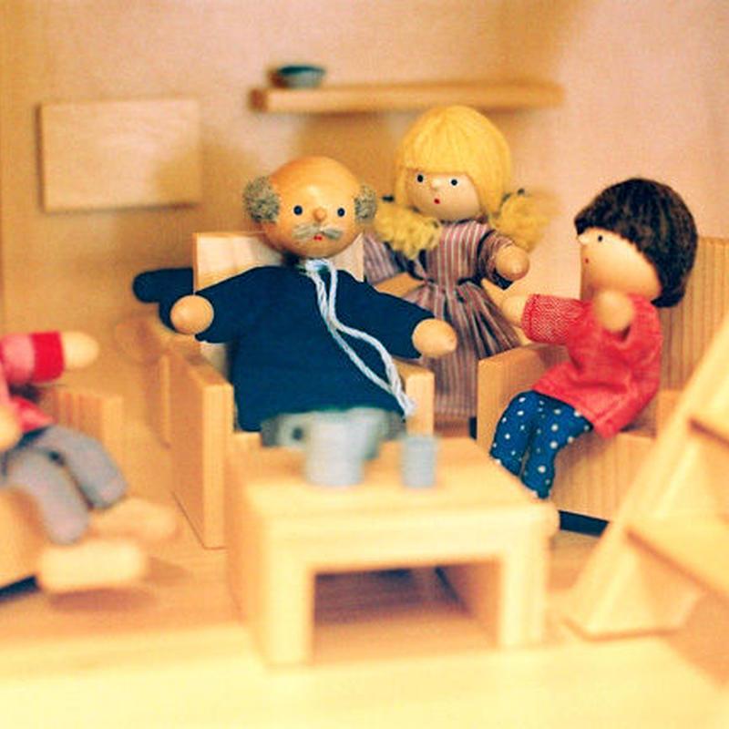 〈3才-〉【ドールハウス/人形】自在人形 おじいさん