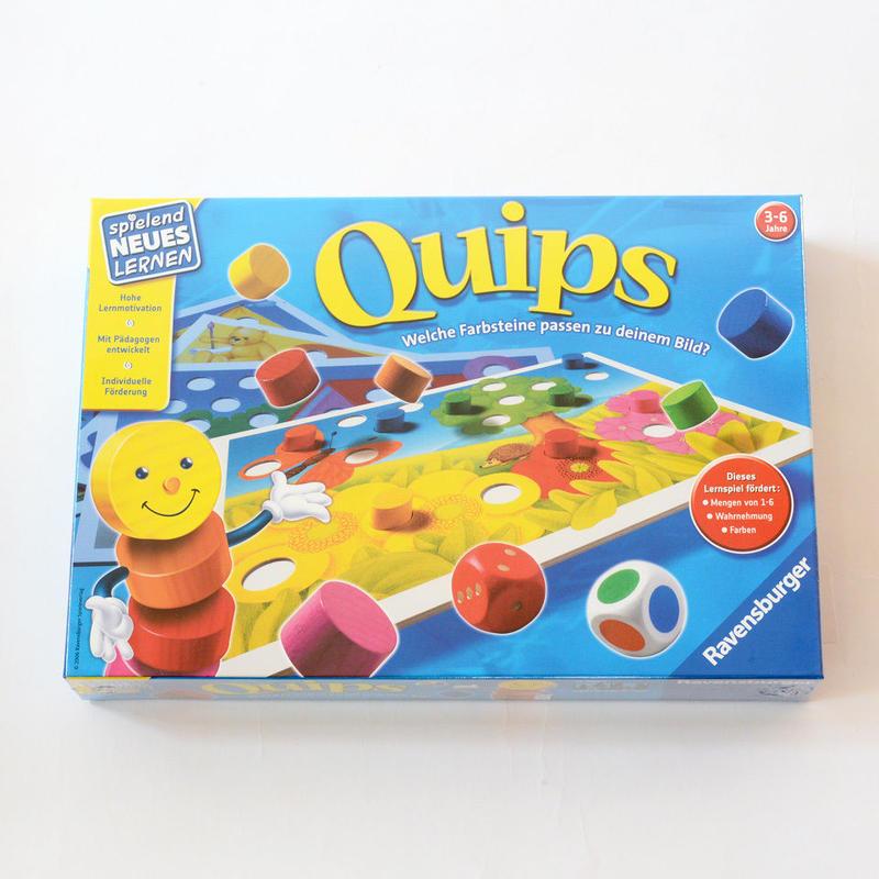 【3才】【色サイコロ遊び】クイップス